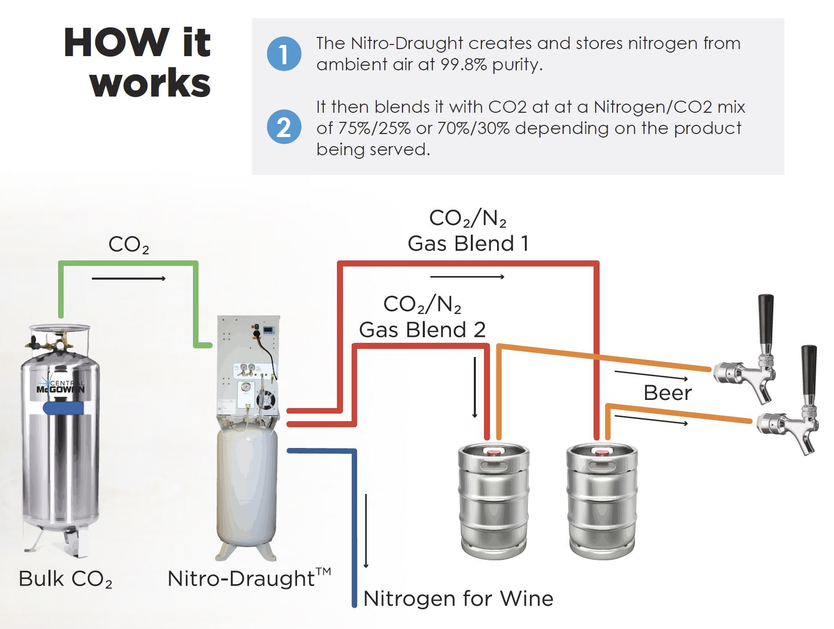 Bulk CO2 Diagram