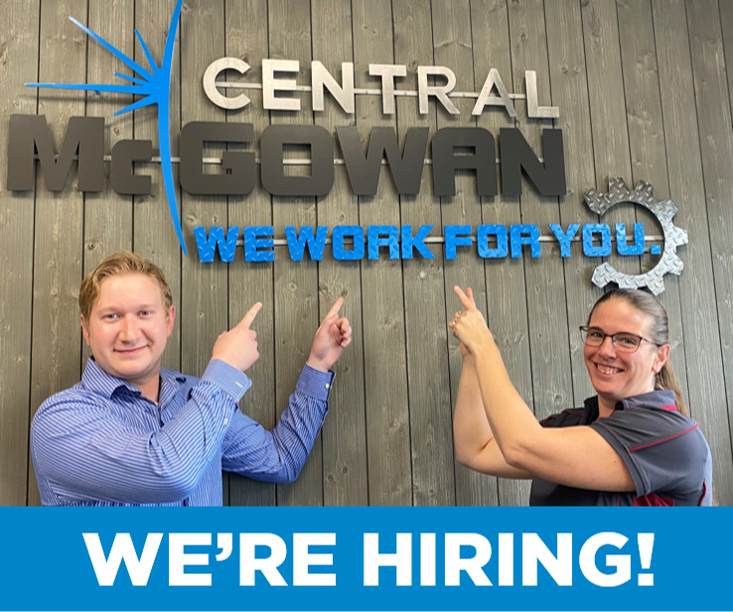 We Are Hiring - Central McGowan2